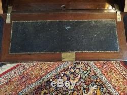 ANCIEN BUREAU DE DAME en marqueterie Epoque XIXe Napoleon III