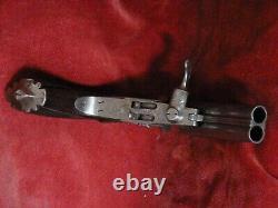 ANCIEN PISTOLET A BROCHE / 9 mm OFFRE / DE COLLECTION / VERS 1870 / XIX°