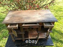 Ancien cabinet, meuble de maitrise, meuble de poupée fin XIX ème s