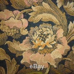 Ancien tenture rideau chateau french fabric tapisserie Napoleon 3 XIXe 350x184