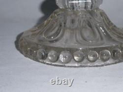 Ancienne Lampe Dentelliere Epoque XIX Siecle Cristal Napoleon III Lanterne Huile