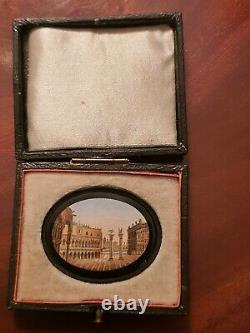 Ancienne Micro Mosaïque XIXè Venise Antique Micromosaic19thC