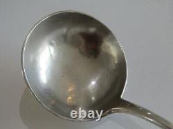 Ancienne louche argent massif sterling silver poinçon Minerve orfèvrerie XIX°