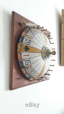 Antique fête Foraine roulette Napoléon III rare manège foire XIX em loterie