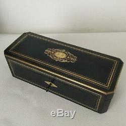 BOITE A GANTS Marqueterie Boulle Napoleon III XIXè Victorian French 19thC Casket