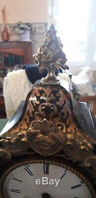 Beau Cartel Marqueterie Boule XIX ème Napoléon III Susse Freres
