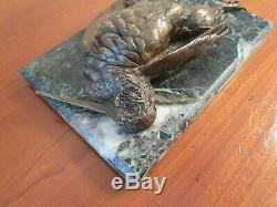 Bécasse, Bronze, Fin XIX°