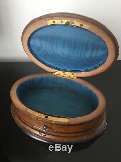 Boite A Bijoux Coffret Faisan Chasse XIXè Victorian French Hunt Box Napoleon III