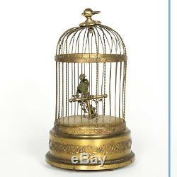 Boîte à Musique Cage à oiseaux, XIXe