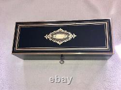 Boîte à gant XIXè Napoléon III avec clé