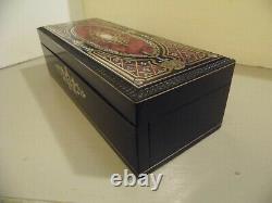 Boite à gants Napoléon III marqueterie de Boulle, XIX ème siècle, gloves box