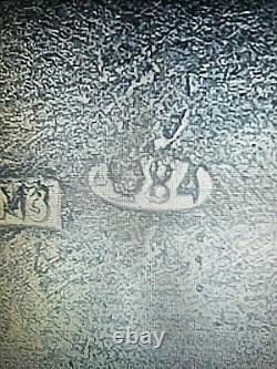 Boite émaillée russie très belle en argent massif 84 fin XIXè 76 G