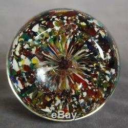 CLICHY SULFURE Napoléon III, XIXe, daté de 1849 milleflori sulphide glass