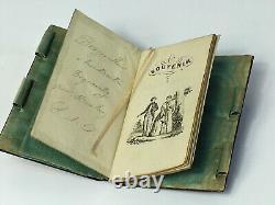 Carnet de bal en écaille blonde et marqueterie. XIX eme siècle