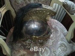 Casque militaire dragon Napoleon III XIXe cavalierie française helmet 2e empire