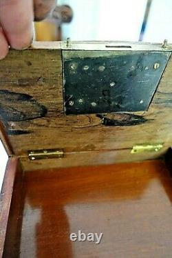 Cave, coffret à cigare Napoleon III XIX Boulle. Cigars box