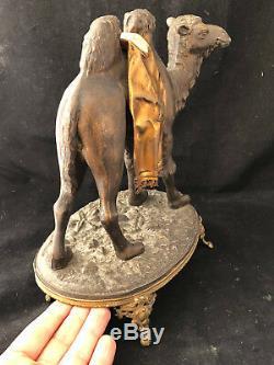 Chameau Napoléon III XIX ème Siècle Régule Patiné Antique French Camel 19th