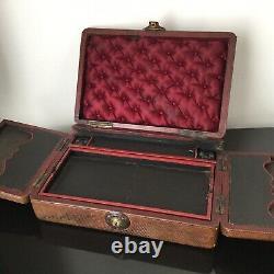 Coffret Ecritoire Milieu XIXè 1850 Napoleon III Palais Royal Victorian Box 19thC