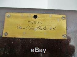 Coffret Écritoire ancien marqueterie Boulle Napoléon III XIXe Maison TAHAN Paris