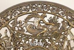 Coupe bronze argenté mythologie grecque Napoléon III, XIXe