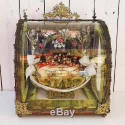Globe vitrine de mariée, Napoléon III, XIXe
