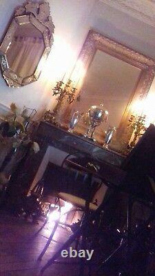 Grand Miroir Vénitien XIX ème époque Napoléon III