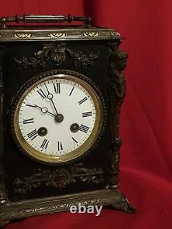 Horloge ancienne, époque Napoléon III XIX ème s
