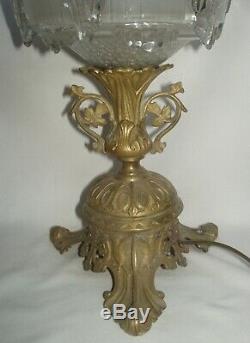 Importante ancienne lampe de table de style Napoléon III XIXe siècle
