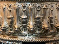 Jardinière Laiton Doré XIX ème Napoléon III Antique French 19th