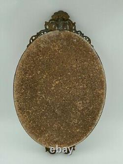 Miroir En Bronze XIX Eme Napoleon III Decor De Mascaron H3087