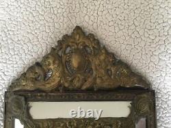 Miroir à parecloses Napoléon III XIX siécle