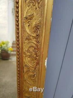 Miroir ancien doré époque Napoléon III XIX eme s