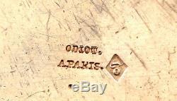 Odiot Armoriee Somptueuse Paire Legumiers Argent Massif Minerve XIX Vermeil