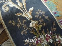 Old textile ancien passementerie galon Napoléon 3 Alsace tissu ancien XIXe