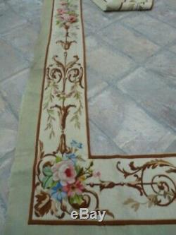 Old textile ancien tapestry Aubusson tapisserie Louis XV Napoléon 3 XIXe 3