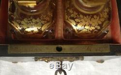 RARE CAVE à PARFUM -TAHAN FOURNISSEUR DU ROI-10 cm X11 cm-XIX