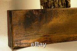 REGLE DE COMPAGNON en fer forgé XIXe 19e siècle 19th century iron ruler