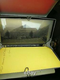 Rare Visionneuse Ancienne avec 49 photos, Napoléon III, XIXe