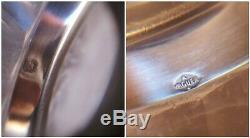 Ravissante paire d'aiguières cristal tors &argent minerve orf. A. VAGUER fin XIXè