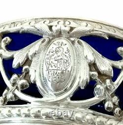 SALERONS Armoiries Argent Massif Minerve XIXe Napoléon III