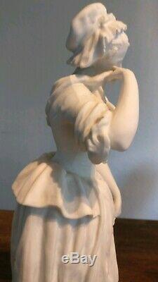 Sculpture biscuit /porcelaine signé Quinter fin XIX ème / Émile Bourgeois Paris