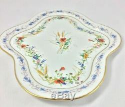 Service A Cafe En Porcelaine De Paris XIX Eme Napoleon III Decor Floral H442