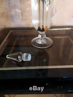 Thermomètre de Galilée verre soufflé du XIX ème Science cabinet curiosité H55cm