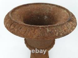 XIX ème s, ancien vase médicis en fonte